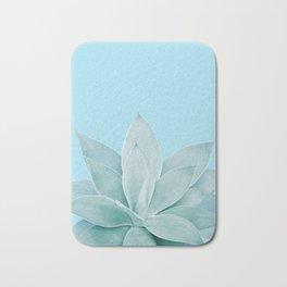 Light Blue Agave #1 #tropical #decor #art #society6 Bath Mat