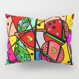 Popart Cherry by Nico Bielow Pillow Sham