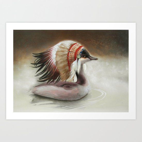 Little Duck. Art Print