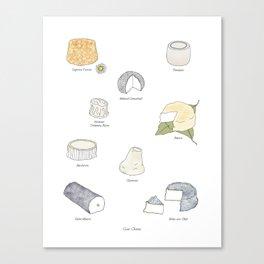 Goat Cheese Canvas Print