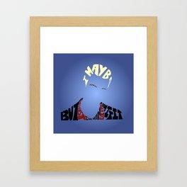 Spike - Buffy the vampire slayer Framed Art Print