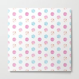 Watercolor dots Metal Print