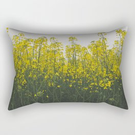 Rape flowers Rectangular Pillow