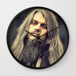Leon Russell, Music Legend Wall Clock