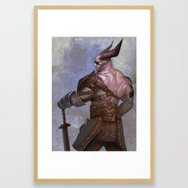 The Iron Bull (Dragon Age) Framed Art Print