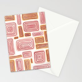 Parallelograms Stationery Cards