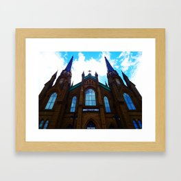 Holy Door Framed Art Print
