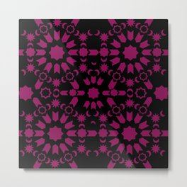Gothic Arabesque Metal Print