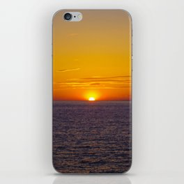Sunset in Marseille iPhone Skin