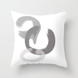 circled Throw Pillow