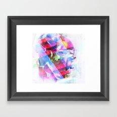 Abstract Head Framed Art Print