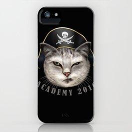 PIRATECAT ACADEMY iPhone Case