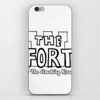 logo iPhone & iPod Skins featuring Logo by The Fort by The Smoking Roses!