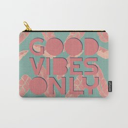 GOOD VIBES ONLY #society6 #decor #buyart Carry-All Pouch