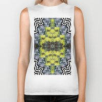 succulents Biker Tanks featuring Succulents by saralynn