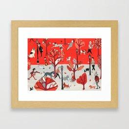 Doggone Dog Is Mine Framed Art Print