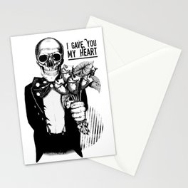 I Gave You My Heart Stationery Cards