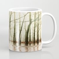 ghost Mugs featuring GHOST TREES by Catspaws