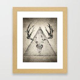 Anteocularis IV Framed Art Print