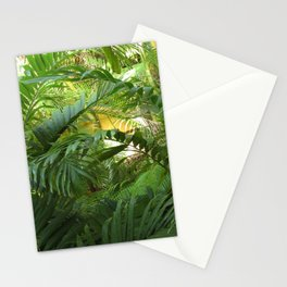 Tropical Garden Paradise 2 close up Stationery Cards