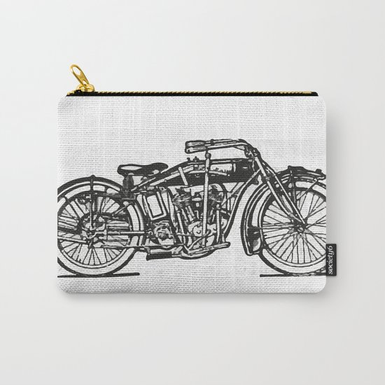 Motorcycle 2 Carry-All Pouch