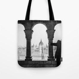 Looking Through. Tote Bag