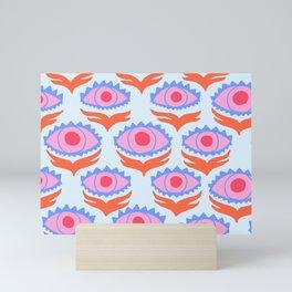 Pink Evil Eye Mini Art Print