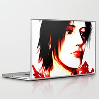 selfie Laptop & iPad Skins featuring Selfie by Sabuchan