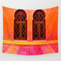 morocco Wall Tapestries featuring Morocco  by Xchange Art Studio