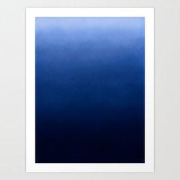 Canvas Collection - Infinite Blue Art Print