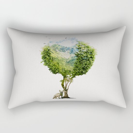 I need more nature Rectangular Pillow