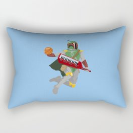 Nothing But Fett Rectangular Pillow