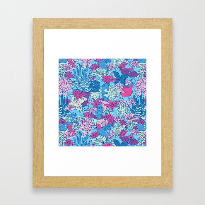 Tulum Framed Art Print