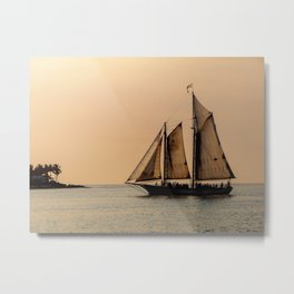 Sunset in Key West Metal Print