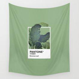 Pantone Series – Banana Leaf Wall Tapestry