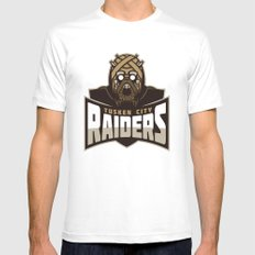 Tusken City Raiders SMALL White Mens Fitted Tee
