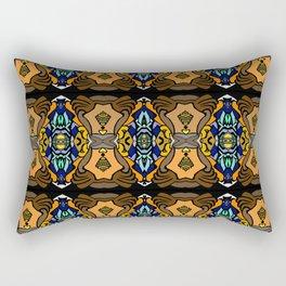 Colred brick Rectangular Pillow