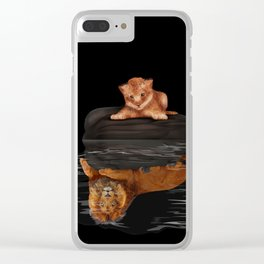 Cute Little Baby Simba lion iPhone 4 4s 5 5s 5c, ipod, ipad, pillow case and tshirt Clear iPhone Case