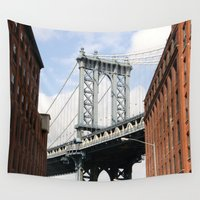 dumbo Wall Tapestries featuring DUMBO by Christian Hernandez