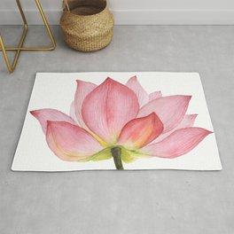 Pink lotus #2 Rug