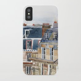 Roofs of Paris iPhone Case