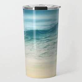 Sunset Waves Travel Mug