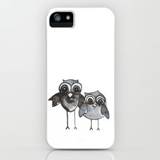 Two Feathered Friends Slim Case iPhone (5, 5s)