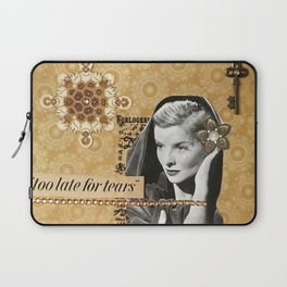 Too Late For Tears Laptop Sleeve