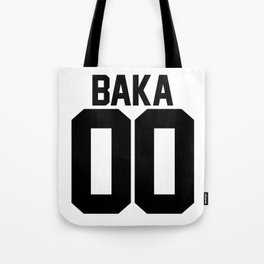 Team Baka Inspired Shirt Tote Bag
