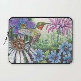 Hummingbird and Bergamot Laptop Sleeve