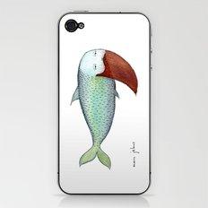 fish with beard iPhone & iPod Skin