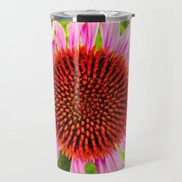 Porpur-Sonnenhut or more commonly known as Purple Coneflower Travel Mug