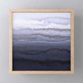 WITHIN THE TIDES BLUE Framed Mini Art Print