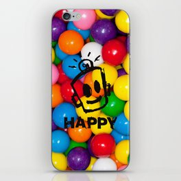 HAPPY GUMBALLS iPhone Skin
